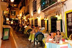 Marbella Patio (AlKandari) Tags: street city buildings cafe spain patio kuwait marbella          alkandari