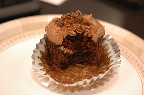 Spicy Chocolate Cinnamon Cupcake