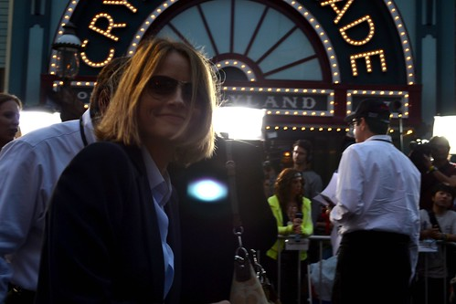Jodie Foster on the Pirates of the Caribbean: On Stranger Tides Black Carpet