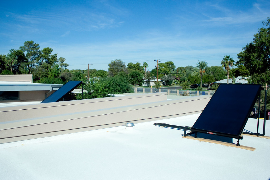 Solar Water Heater in Tempe, AZ