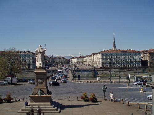 Piazza Vittorio hace tres años