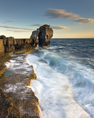 Pulpit Rock Portland (peterspencer49) Tags: england seascape clouds portland coast europe unitedkingdom dorset coastline seaview portlandbill dorsetcoast seascene jurasiccoast eos1dsmarklll peterspencer coastalledges