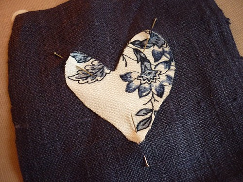 Little appliqué heart