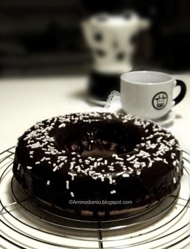 Ciambella soffice al ciocolato