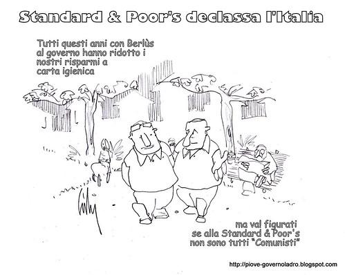 Standard & Poor's declassa l'Italia by Livio Bonino