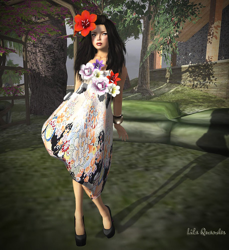 CS - CHNATKARE ASIAN BLOSSOM DRESS