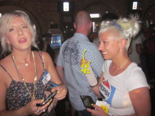 Raymi the Minx and Casie Stewart at Revival, Pepsi Throwback, May 31