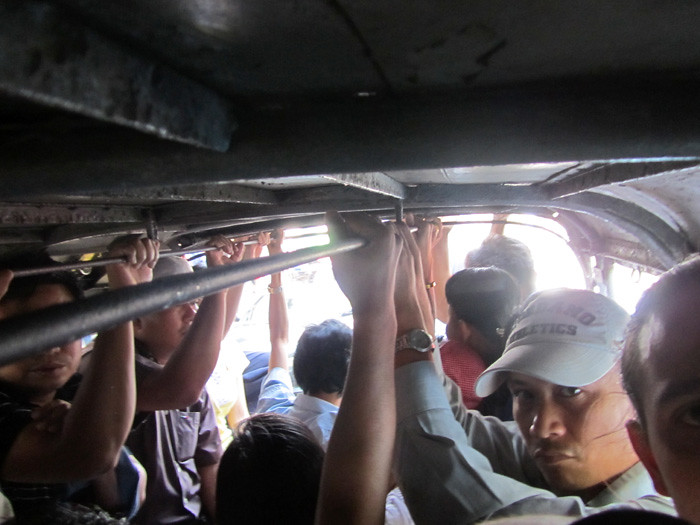 Local Yangon Transportation