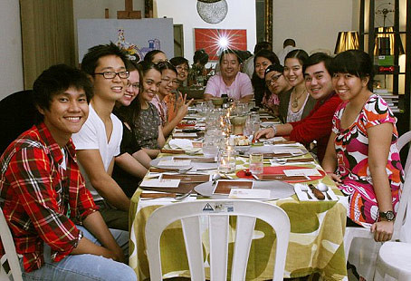 All of us who were at the table - CertifiedFoodies.com