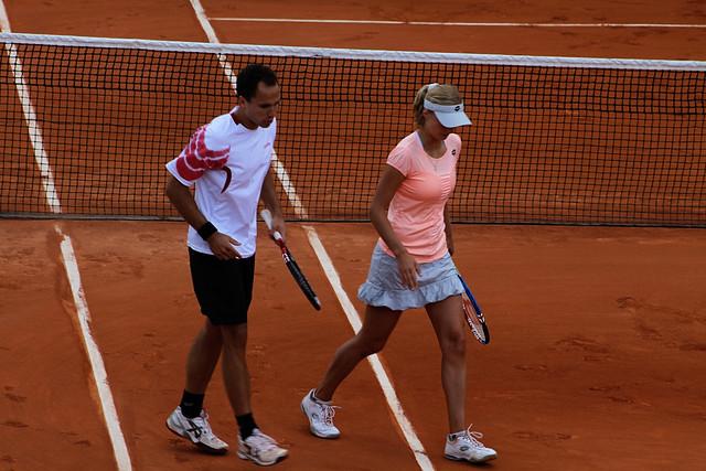 Ekaterina Makarova and Bruno Soares