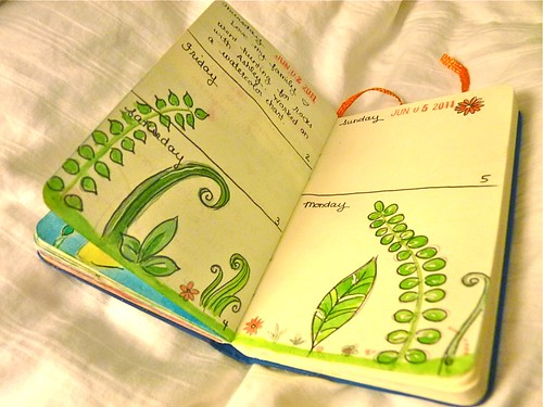 Sketchbook Journal - June by jennyfrith