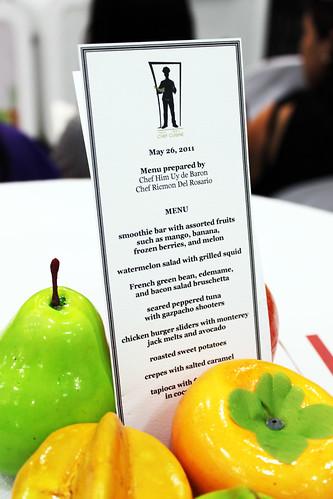 Menu - GNC Eat Well, Live Well Shangri-la Mall Launch