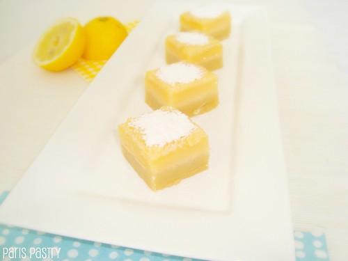 烤杏仁柠檬条