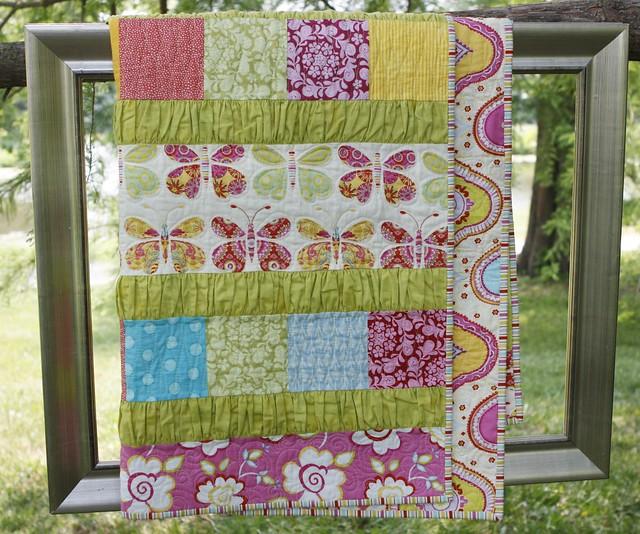 Ruffle Crush Baby quilt