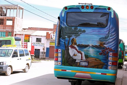 Copacabana Jesus Bus