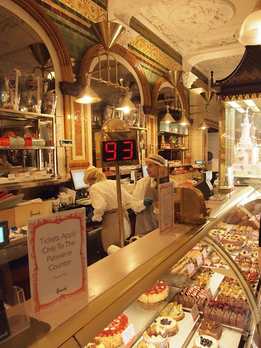Harrods bakery