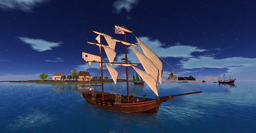 Naval Battle Night in Antiquity