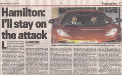 Published (Part 3) (Alex Penfold) Tags: orange published mail hamilton lewis daily mclaren button opening launch jensen mp4 dealer 12c mp412c