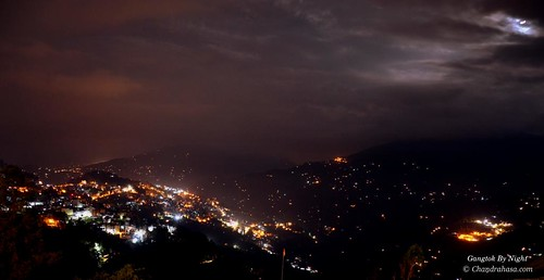 Gangtok By Night