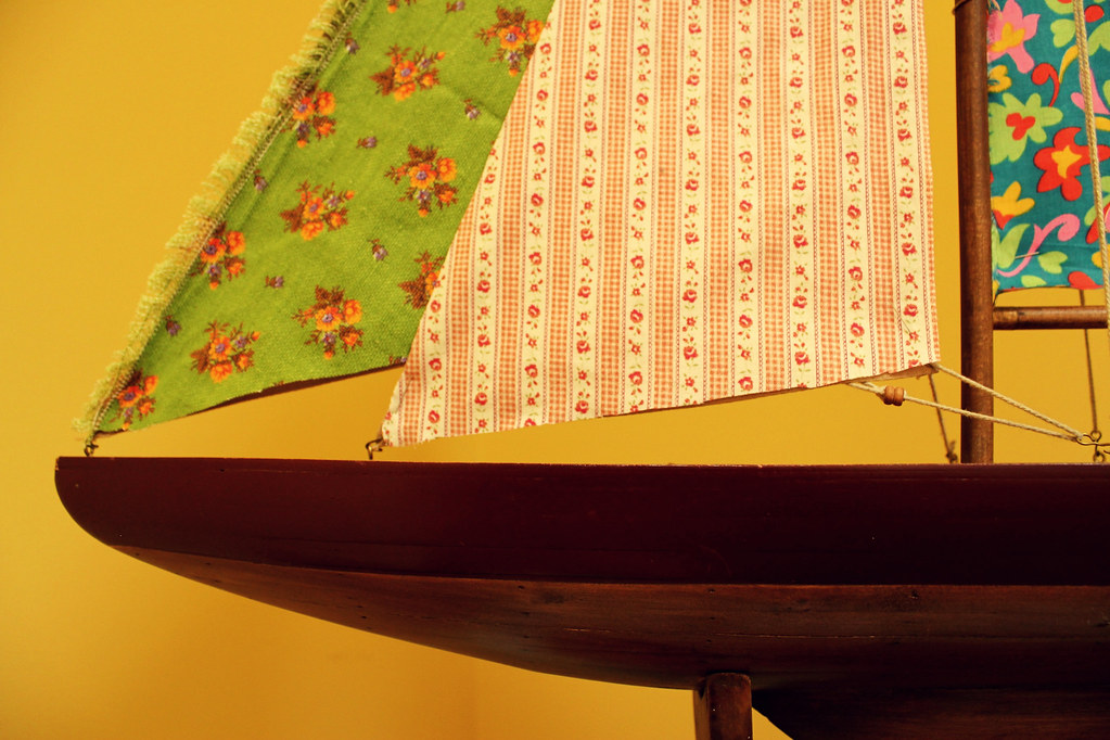 set sail with pretty fabric