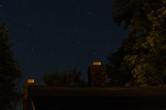 Sleepy Summer Night (Truebritgal) Tags: roof summer chimney sky house tree rooftop lens stars nikon long exposure bricks under peaceful astro nighttime astrophotography nikkor tranquil 15sec Astrometrydotnet:status=solved d7000 Astrometrydotnet:version=14400 truebritgal Astrometrydotnet:id=alpha20110657611460