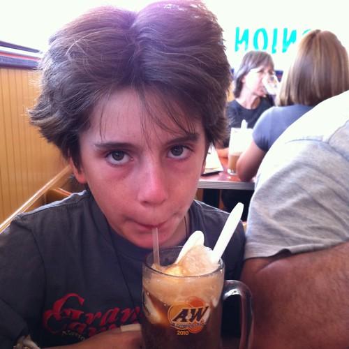 A&W Root Beer's got that frosty mug taste!