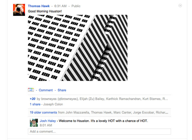 Thumbnail View on Google+ in Your Stream Looks Awesome!