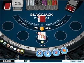 Blackjack Surrender Single Player game
