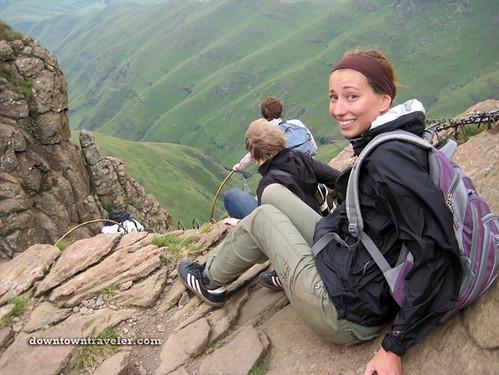 Leslie_Drakensberg Mountains Hike