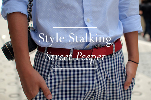 Style Stalking Street Peeper - Feature Button