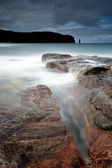Sandwood Bay (Pete Barnes Photography) Tags: cloud beach dune etheral highland highlands holiday lairg longexposure misty moody northwest rain rock rocks sand sandwood sandwoodbay sandy scotland sky slowshutter storm