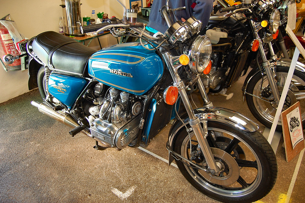 The Honda Gold Wing. GL 1000. 1974-79.
