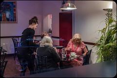 OliveTree (Briggate.com) Tags: window night restaurant women nocturne headingley olivetree cityofwomen headingleybynight unabrazolns2262