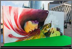 Urban Week La Defense - Iretze (Franois Leroy) Tags: franoisleroy france dfense puteaux parvis urbanweek streetart dessin grafitti iretze