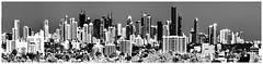 View of downtown Miami, Florida, USA / The Magic City (Jorge Marco Molina) Tags: miamidadecounty miami florida usa southflorida magiccity downtown urban citycenter centralbusinessdistrict sunshinestate density highrise building tower skyscraper architecture condominium residential cosmopolitan metropolitan metro metropolis commercialproperty realestate nikond7100 jorgemolina panoramic cityscape modern modernskyline