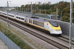 Eurostar 373 011 (samkiller42) Tags: trains train railway railroad rail rails rainham hs1 highspeed1 eurostar
