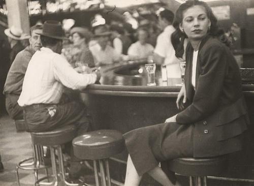 Lisette Model, Las Vegas, On the Bar, 1949