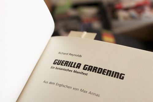 Vorsatzblatt Guerilla Gardening