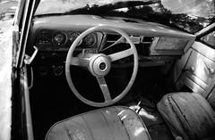Jeep Cherokee SJ - 1974 (Burnt Umber) Tags: auto urban usa car america 1974 automobile jeep offroad 4x4 detroit explore american amc suv 74 ue urbex americanmotorscorporation flurbex rpilla001