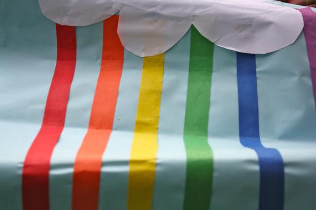 glitter rainbow - 2