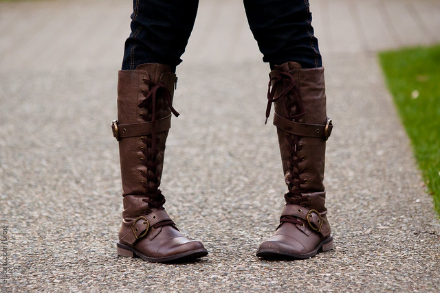 Brown Lace Up Boots III