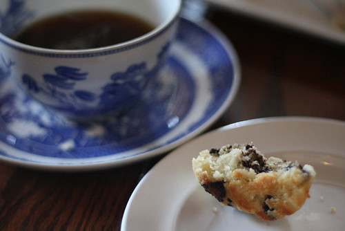Tea & Chocolate Scone