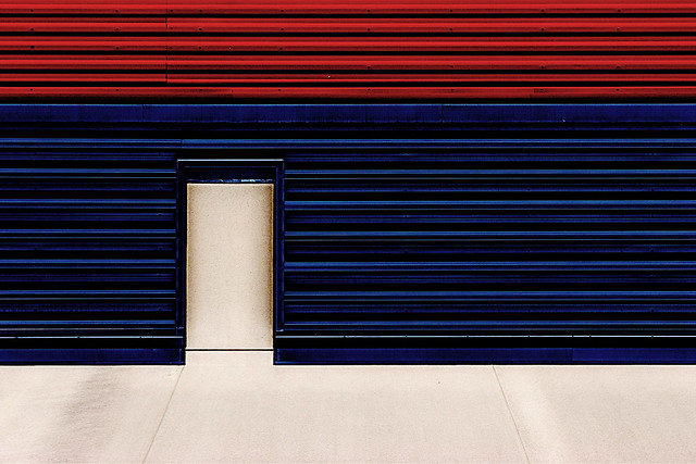 red blue and white #2