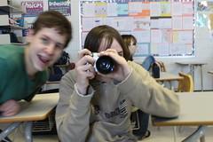 Joey taking a picture of me taking a picture of joey. (dgaw(:) Tags: duck over once tripped