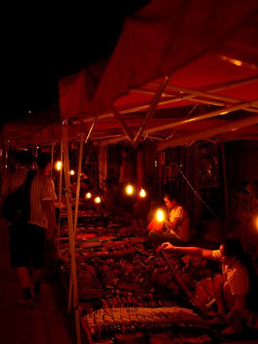 Luang Prabang - Mercado nocturno2