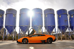 Lamborghini Murcilago LP670-4 SV (Thomas van Rooij) Tags: madrid lighting blue light orange sun car portland photography spain nikon factory photoshoot thomas awesome cement automotive super experience nikkor cemento lamborghini supercar sv sportscar murcielago 18105 fotoshoot veloce d90 hypercar rooij worldcars superveloce lp6704 lp670 thomasvanrooij