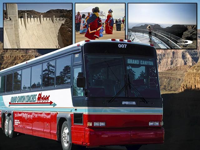 ウエストリム・インディアン・バスツアー(グランドキャニオンのオプショナルツアー)