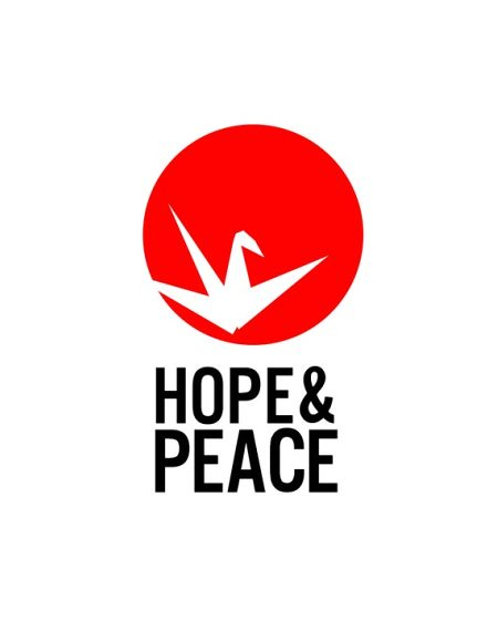 Help Japan. Hope and Peace Paper Crane. All Proceeds go to Japan Earthquake and Tsunami Relief-CirclePrints-etsy