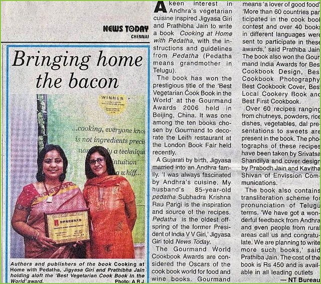 Gourmand awards in News Today