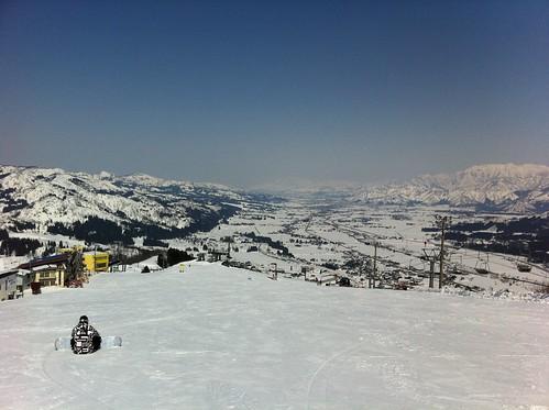 La soledad del skiador
